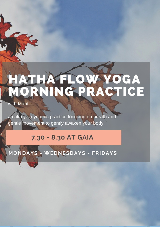 October Hatha Flow Yoga Morning Practice