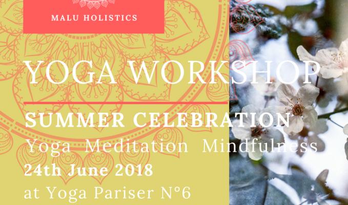 Yoga Workshop SummerCelebration