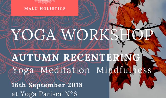 Yoga Workshop AutumnRecentering